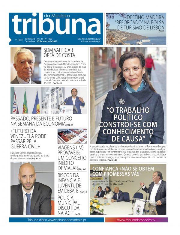 Nº 1006 – 15/03/2019 – Tribuna da Madeira