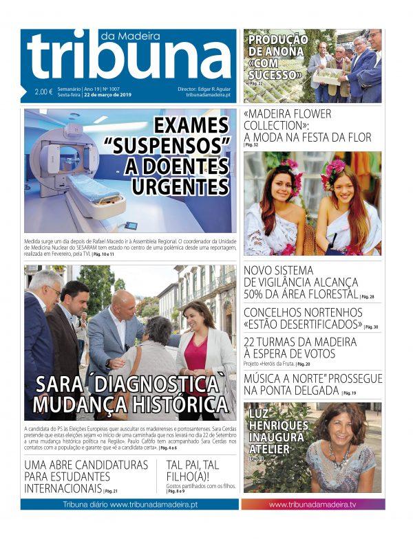Nº 1007 – 22/03/2019 – Tribuna da Madeira