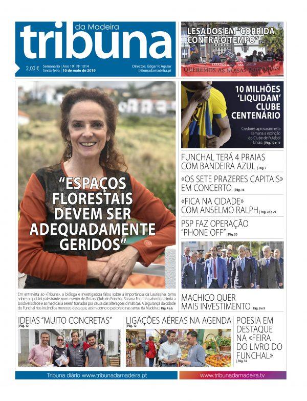 Nº 1014 – 10/05/2019 – Tribuna da Madeira