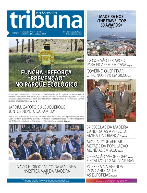 Nº 1015 – 17/05/2019 – Tribuna da Madeira