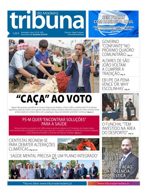 Nº 1020 – 21/06/2019 – Tribuna da Madeira