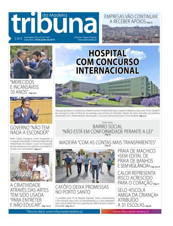 Nº 1021 – 28/06/2019 – Tribuna da Madeira